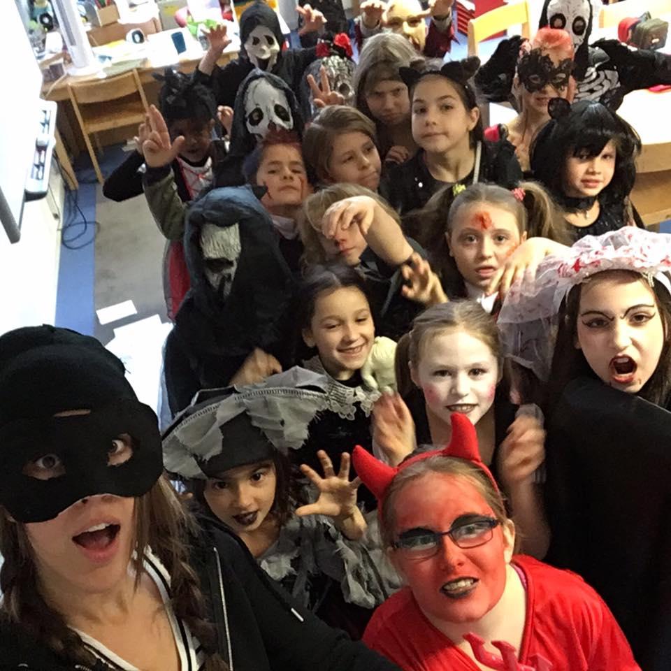 Halloween in Klasse 2 2016 – KIBS Hannover